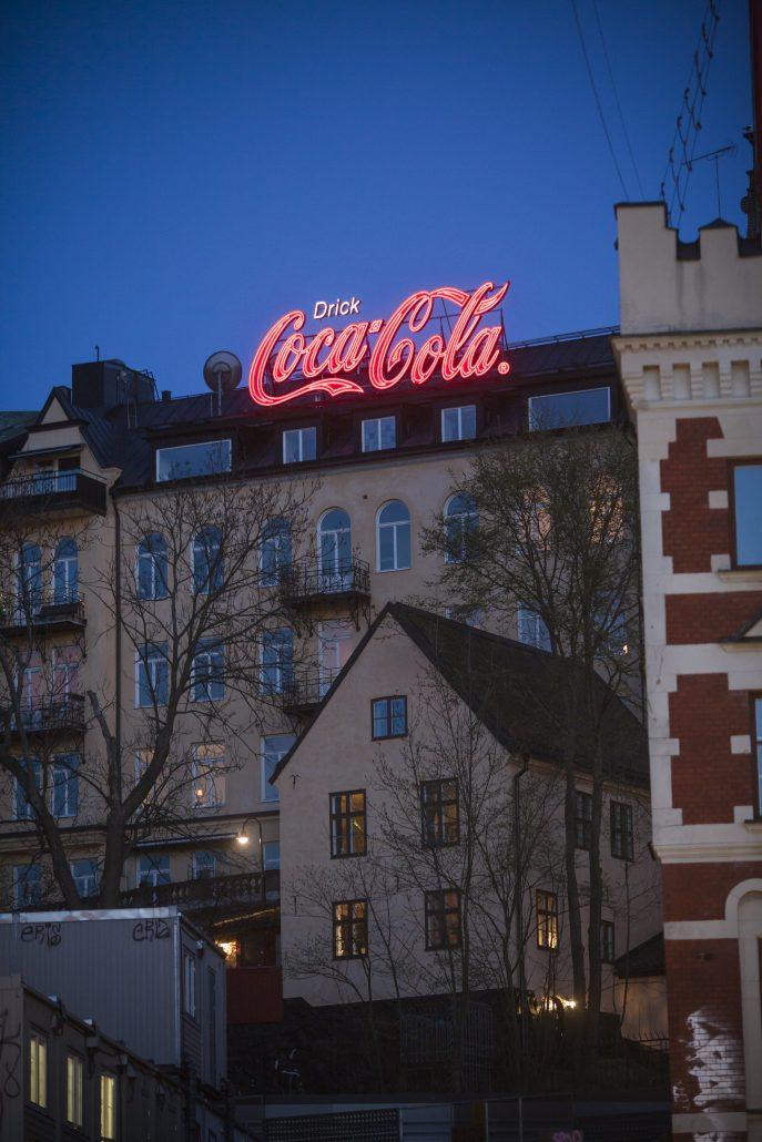 CocaCola neonliknande LED Focus